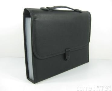 leather business document bag