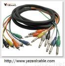 Appareillage électrique électronique de câble de fils et de câbles/étape