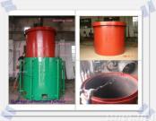 Hoist type energy-saving carbonization furnace
