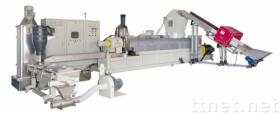 Plastic afval recycling 3 in machines 1