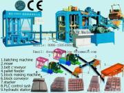 fully automatic block shaping machine,cement block machine