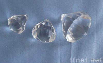 acrylic diamond pendent