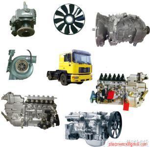 howo, shaanxi truck parts