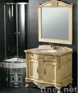 Single Basin Bathroom Cabinet