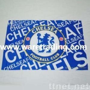 Soccer teams flags