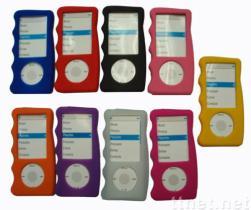 Het Geval van het Silicone van de vinger voor iPod