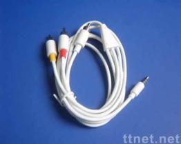 VideoKabel AV USB voor iPod & iPhone