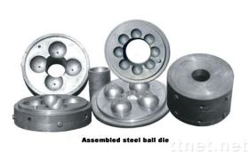Steel ball mold