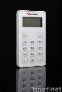 audience response system / interactive audience response /interactive audience polling/voting keypad