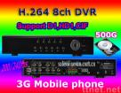 8CH Video/Audio H.264 Security Mobile Phone DVR
