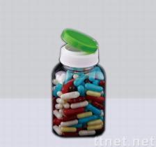 Bottiglia di assistenza medica