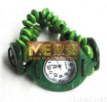 kokosnoten horloge