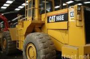 使用された幼虫の車輪の積込み機CAT 966e