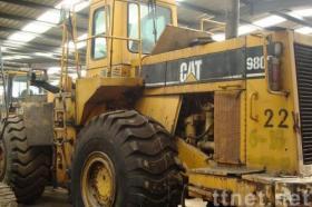 使用された幼虫の車輪の積込み機CAT 980f