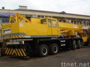 使用されたTADANOのトラッククレーンTG-800E (秒針のクレーン車80ton)