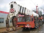 使用されたTADANOのトラッククレーンTG-1500E (秒針のクレーン車150ton)
