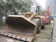 使用された車輪の積込み機CAT 966F (秒針の車輪の積込み機)