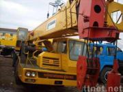 使用されたTADANOのトラッククレーンTG-450E (秒針のクレーン車45ton)