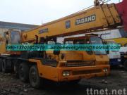 使用されたTADANOのトラッククレーン50T