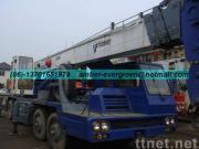 使用されたTADANOのトラッククレーン35T