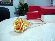 24k gold foil rose