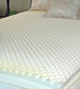 memory foam mattress topper,visco elastic memory foam topper,mattress topper Convoluted 2 mattress topper