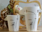 Ceramic Cup , Love Mug Set