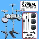 RockBand 2 Double Cymbal Expansion Kit