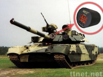 Artillery shell speed radar