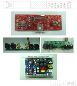 2CH Stereo Digital Power Amplifier