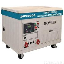20KW THREE PHASE SYNCHRONOUS SOUND-PROOF GASOLINE PORTABLE GENERATOR SET DW20000