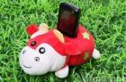 phone holder /plush toys/phone seating