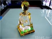 水晶香水瓶の香水瓶