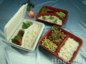 Scatola del pasto, scatola di pranzo, contenitore di alimenti a rapida preparazione, contenitore di alimento