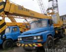 gebruikte vrachtwagenkraan 8 ton XCMG QY8D