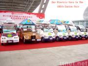 De 105ste Markt van het Kanton wees Elektrische Auto aan
