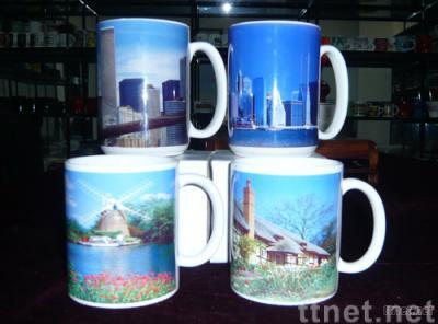 11 oz & 16oz ceramic dye sublimation mug