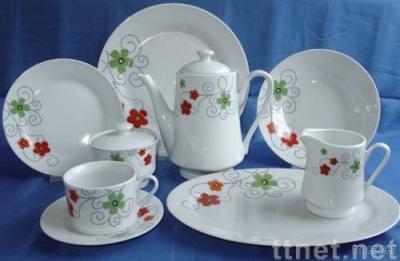 47pcs porcelain dinnerset