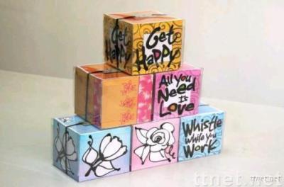 Memo Pad, Paper Cube