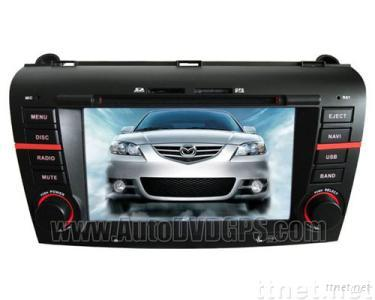 Mazda3 Car DVD Radio Stereo GPS navigation player with RDS iPod Bluetooth