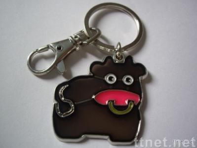 Ox Keychain