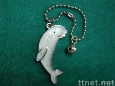 Dolphin Cell Phone Charm