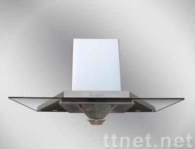 Cone filter range hood