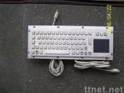 Metal keyboard ,Stainless Steel Keyboard with touch pad,metal keyboard,industrial keyboard with touch pad