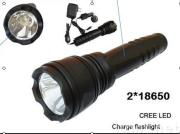 Rechargeable led flashlight