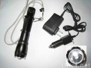 Rechargeable led flashlight HD-GLK09