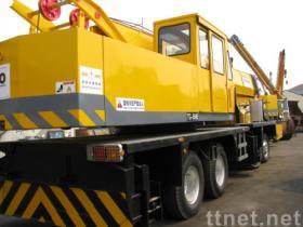 クレーントラック55トンの使用される