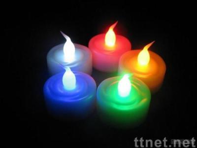 LED candle light,LED tealight (tea light) of blow switch