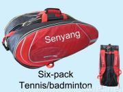 De zakken van het tennis