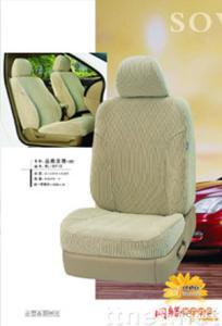 Worsted fabric seat cover (grey)